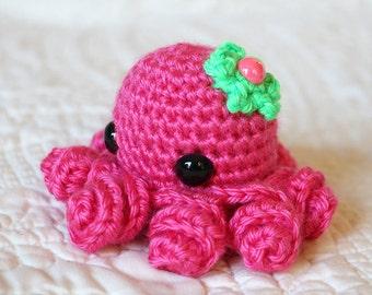 Amigurumi Octopi - Octopus Dolls - Crochet Octopus - Stocking Stuffer - Amigurumi Doll - Steampunk Octopus - Gift for Geeks - Ocean Creature