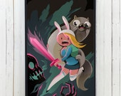 ADVENTURETIME Phone case for iPhone and Galaxy