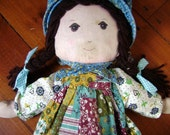 Vintage Holly Hobbie Doll Knickerbocker with Original Tag Complete, Vintage