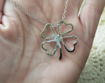 75% off enter LOVE2016. Lucky Charm Necklace, Mother's Day Gift, Saint Patrick's Day, Lucky Charm Necklace, Clover
