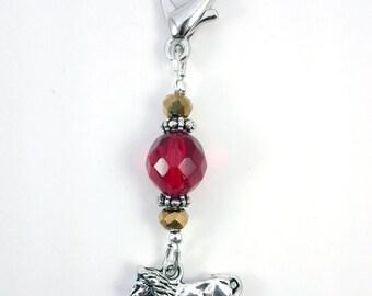 SALE - Gryffindor Purse, Scissor or Key Fob