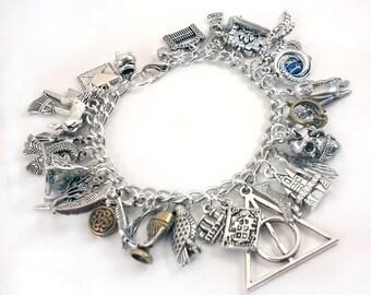 Ultimate Harry Potter Charm Bracelet - Simply Charming