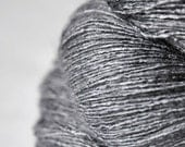 Gray which must not be named  - Tussah Silk Lace Yarn