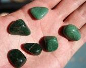Green Adventurine High Quality Tumbled Stone Medium- Large Size