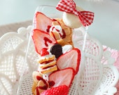 iPhone 6/6s Chocoo Patisserie Series Whip Strawberry  Mille-feuille iPhone case sweet Deco