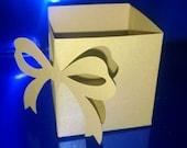 DIY bow boxes set of six