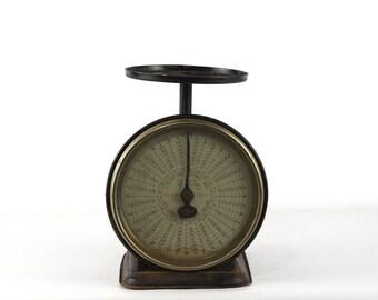 Antique Scale, Rustic Industrial Decor, Postal Scale, Vintage Kitchen Scale, Industrial Farmhouse Decor, Chatillon Scale