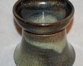 Raised Cat Food Bowl - Antique Bronze