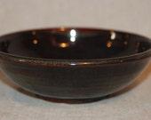 Large Cat Food Bowl - Mahogany
