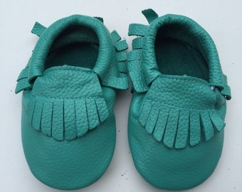 Sale Children Moccasins Ready to ship, Moccs, Baby Moccs, Baby Moccasins Shoes, Toddler Shoes