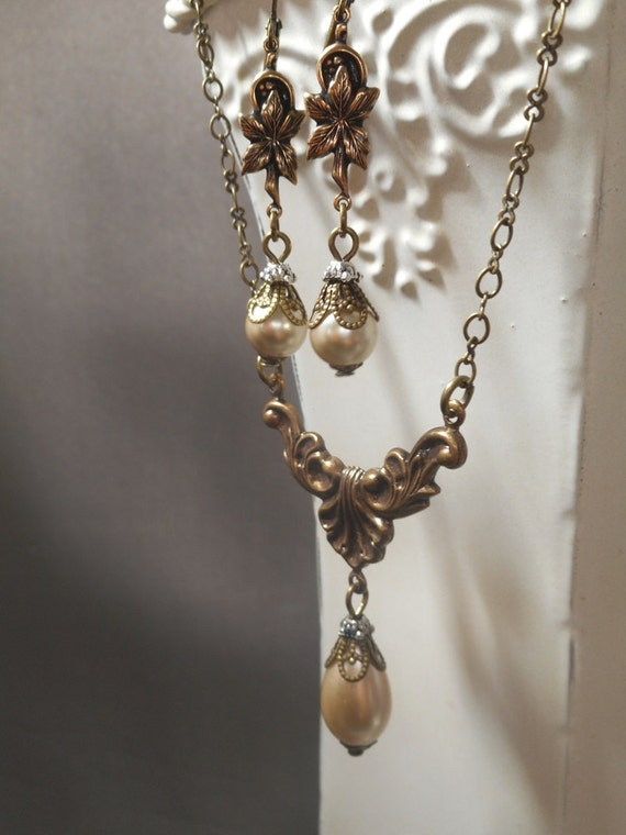 lady edith downton abbey wedding jewelry pearl necklace