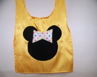 SaleSpecial-Toddler's Yellow Cape Minnie Mouse