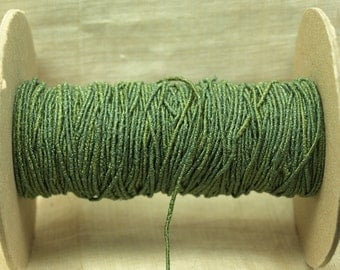 Bulk Cording! 10 Feet of Textured Forest-y Green Cording. CRD4008