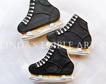 Hockey Skate Cookies 1 Dozen (12)