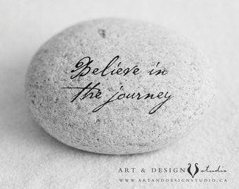 Inspirational Wall Decor, Class of 2017, College Graduation Gift, Inspirational Graduation Gift, Inspiring Quote Print, Believe in Journey
