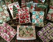 1:12 DOLLHOUSE MINIATURE - Christmas ORNAMENTS with Box