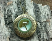 Ginkgo Leaf Locket