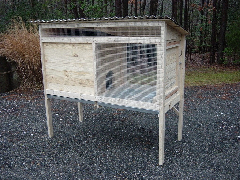 29 brilliant woodworking rabbit for Wood hutch plans