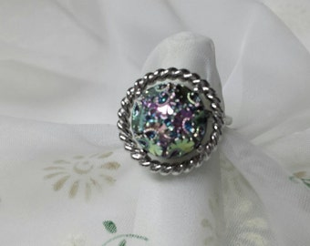Sarah Coventry Northern Lights  Ring Adjustable