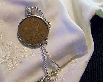 Vintage Irish Penny Necklace