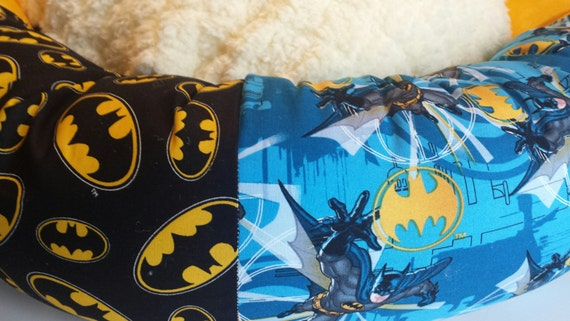 the batman donut dog bed small medium large