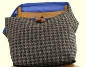 CROSSBODY HOBO BAG - Large Bag - Slouch Bag - Oversized Bag - Over Shoulder Bag - Vegan Bag - Hippie Bag - Boho Bag - Grey Crossbody Bag