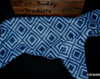 """Clearance 13""""  Ready to Ship BuddyWear fleece outfit for Italian Greyhounds, Hairless Terriers, Cresteds and all small dogs"""