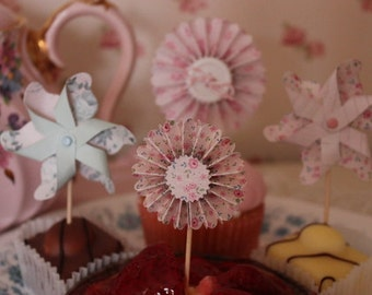 Mini Cupcake Rosettes
