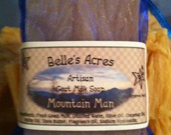Goatmilk Soap Mountain Man