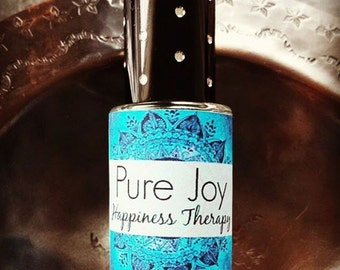 PURE JOY // HAPPINESS Therapy// allow for Laughter Bliss Lightness Joy // Homeopathic Aromatherapy