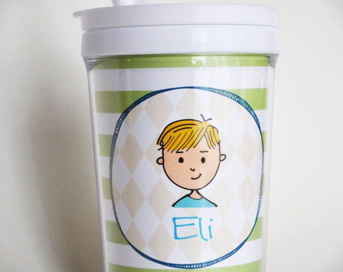 Kids Tumbler Cup with Straw - Custom Made
