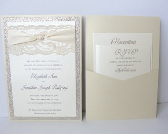 Glitter Invitation, Wedding Invitation, Elegant Wedding Invitation, Rustic Wedding Invitation, Vintage Wedding Invitation,COCO - FLIP KNOT