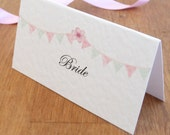 Bunting Place Cards
