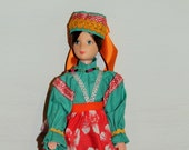 Vintage European Doll, Dolls of the World