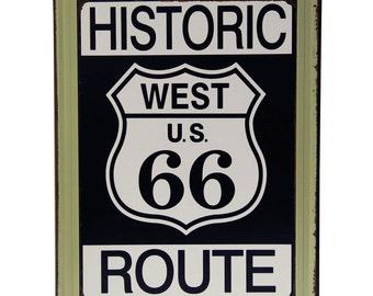Route 66 Retro Metal Tin Sign 7000211