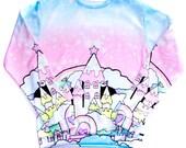 Melty Castle Sweater ~ Roxie Sweetheart