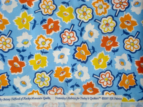SALE : The Roaring '20s & Beyond Betsey Telford Rocky Mountain Quilts fabric FQ or more