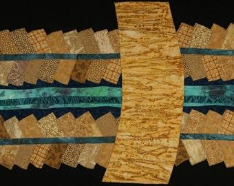 Handmade Art Quilt - River Run