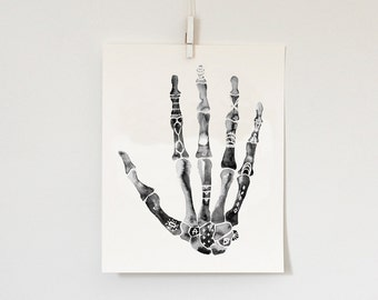 Right Hand, 8x10  print