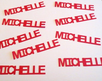 Custom Name/Saying Confetti - Set of 12