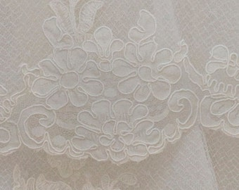Vintage Alencon Lace