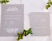 Winter Formal Floral Rose Wedding Suite
