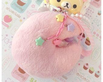 Bity Kity Original Kawaii Fairy Kei Jumbo Fluffy Moon Charm