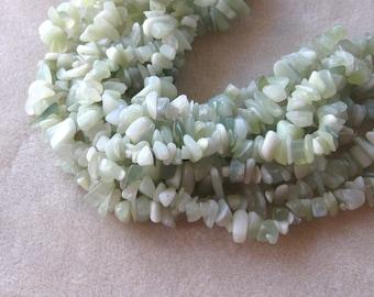 New Jade Chip Beads, Gemstone Beads, Craft Supplies, Beads for Jewelry Making, Chip Beads, Jade Beads, Necklace Design, Bead Supplies, (1)