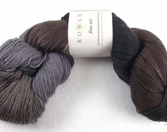 43% Off Rowan Fine Art Sock Yarn Hand Painted Wool Nylon Mohair & Silk Blend Color 308 Chiff-Chaff Last Skein