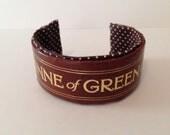 Anne of Green Gables Book Spine Bracelet
