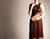geometric design clutch baguette bag, flap front purse , metallic pattern handbag Clutch bag, orange clutch