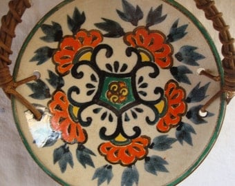 VINTAGE OCCUPIED JAPAN Pottery Ceramic Dish