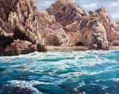 Cabo Wabo original oil painting on canvas