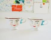 Baileys Winking Couple Mugs